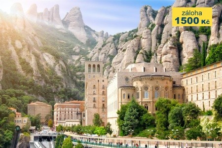 Katalánsko a gotická Barcelona s kúpaním, Barcelon - poznávací zájezdy