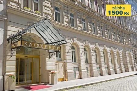 Hotel Kaiserhof Wien - letní dovolená
