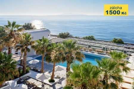 Kamari Beach Hotel, Řecko, Santorini