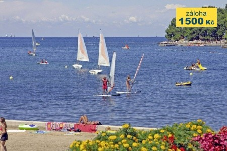 Hotel Istra Plava Laguna - v srpnu