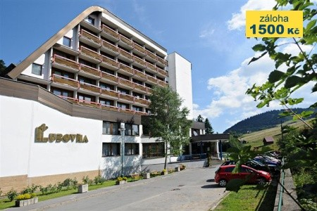 Hotel Ľubovňa - v září