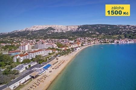 Valamar Zvonimir Hotel - letní dovolená u moře