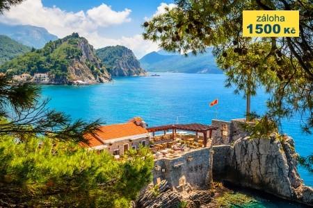 To nejlepší z Černé Hory + NÁRODNÍ PARKY + SKADARSKÉ JEZERO  - Last Minute a dovolená