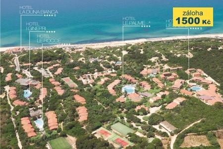 Resort & Spa Le Dune - Hotel Le Rocce - v září