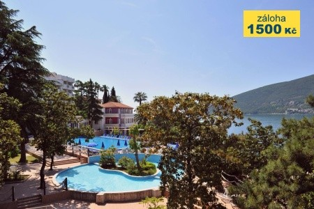 Hotel Sun Resorts 4*, Herceg Novi - v květnu