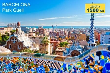 Barcelona a Montserat s pobytem u moře - v září
