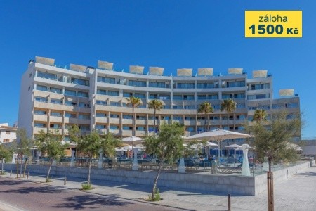 Aparthotel Fontanellas Playa Snídaně