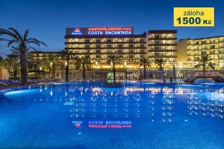 Aparthotel Costa Encantada - letní dovolená u moře