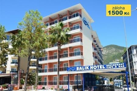 Kleopatra Balik Hotel - plná penze