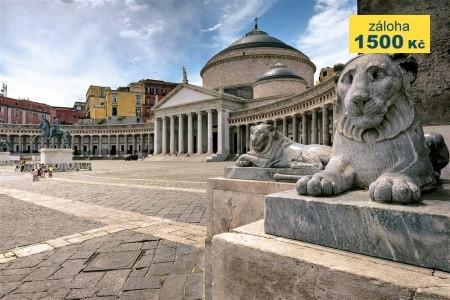 Řím, Neapol, Pompeje, Vesuv - Last Minute a dovolená