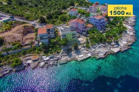 Apartmány 1355-414 - letní dovolená u moře