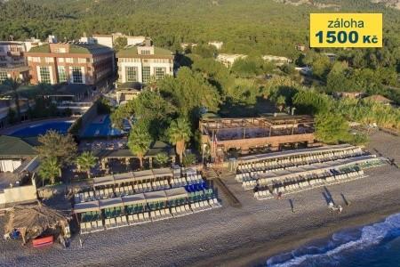 Armas Gül Beach - na pláži