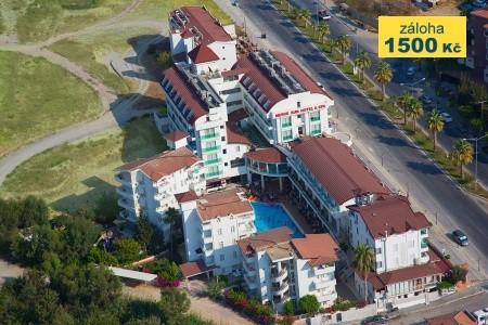 Hotel Merve Sun & Spa - v říjnu