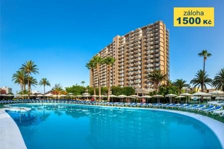 Hotel Sol Arona Tenerife - v srpnu