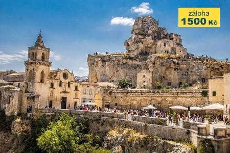 Poznávací zájezd Basilicata a Apulie - pro seniory