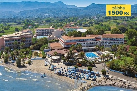 Angela Beach Hotel, Řecko, Korfu
