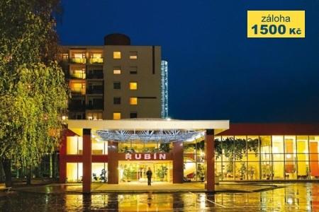 Lázeňský Hotel Rubín - v červenci