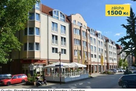 Ringhotel Residenz Alt Dresden - v červenci
