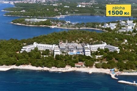 First Minute Do 29.2.hotel Delfín** , Bazén,dítě Do 11.9 Let Zdarma, Chorvatsko, Poreč