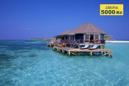 Kuredu Island Resort, Maledivy-Lhaviyani Atol - Garden Bungalov