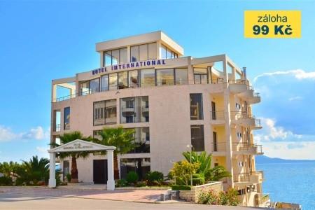 Hotel Saranda International - v červenci