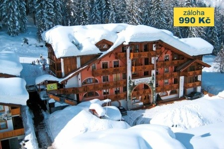 Dovolená v oblasti Itálie, Dolomiti Brenta (Val di Sole), hotel Garni Dal Bracconiere
