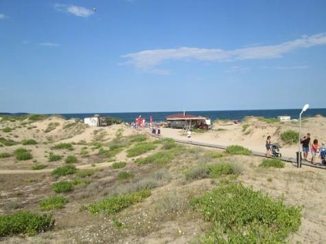 Primorsko cesta na severní pláž