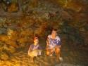 V jeskyni - Alanya
