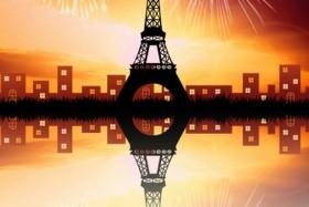 Silvestrovská pohodová Paříž
