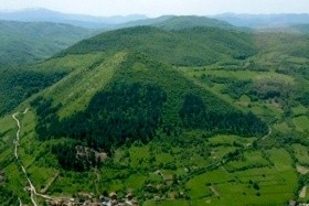 Údolí Pyramid ve Visoku