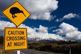 Nový Zéland a veľké mestá Austrálie