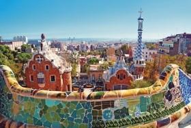 Středozemní Vánek S Prodloužením V Barceloně