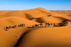 Maroko - Maurská architektura a nekonečné pouště