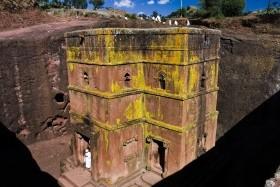 Etiopie - Historický sever aetnický jih