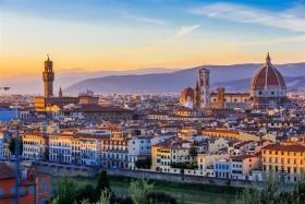 Florencie s koupáním u moře
