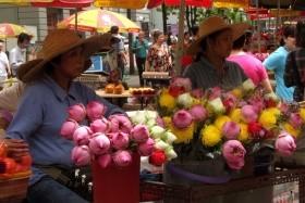 Kambodža A Jižní Vietnam