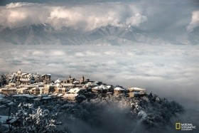 Zimní víkendové lyžování