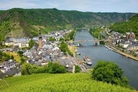 Romantické údolí Neckaru, Mosely a Rýna