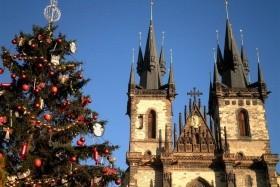 Predvianočná Praha, Praha