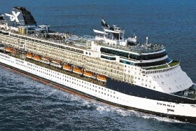 Usa, Kanada Z Cape Liberty Na Lodi Celebrity Summit - 393875586
