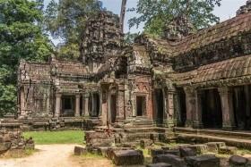 Chrámy Angkoru a pláž Sihanoukville