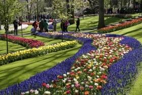Květinový park Keukenhof a procházka Amsterdamem