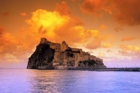 Ischia pro neposedy  - letecky