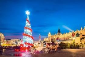 Kouzelné polské město a pohádkové vánoční trhy v královském Krakově