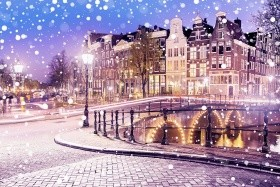 Adventní Amsterdam + ZAANSE SCHANS + HAAG (letecky z Prahy)