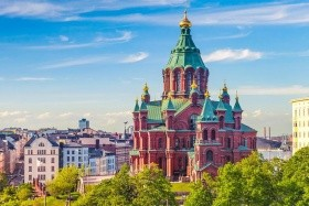 Vilnius, Helsinky, Tallin, Riga, Hotel - pokoj s vlastním soc. zařízením