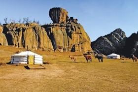 Putování zemí Čingischána