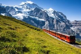 Putování Švýcarskem až pod Mont Blanc