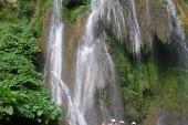 vodopády v pralese u Trinidadu