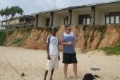 s Kushanem u rybáře